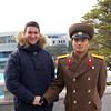 Jesse with Lt  Chun Yee