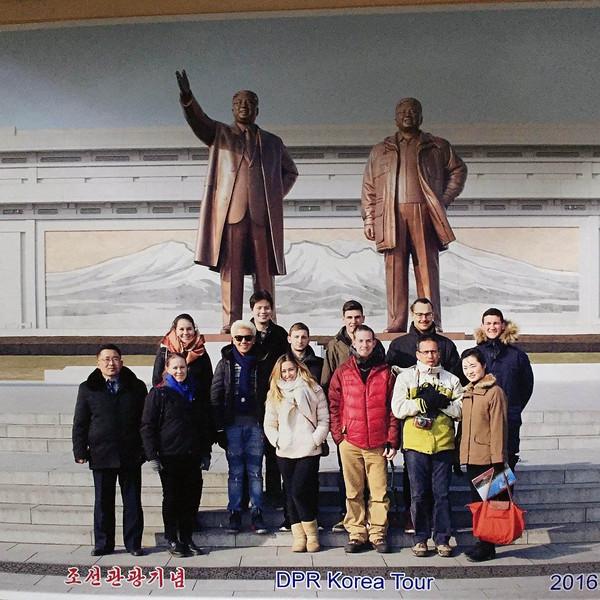 DPR Korea group tour photo 2016