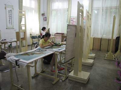 Embroidery Institute, Pyongyang