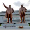 Statues of North Korean Leaders, Pyongyang