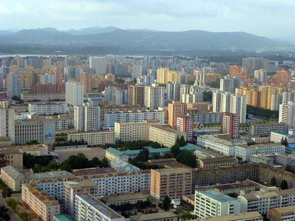 Apartment Buildings in Pyongyang