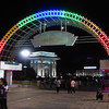 Fun Fair & Arch of Triumph, Pyongyang, North Korea