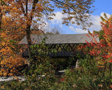 Bridge over Mascoma River, Lebanon, NH