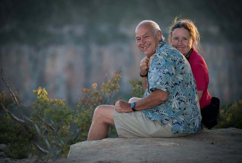 Thank you to Drew Benson, who so graciously photographed us on Bright Angel Point.