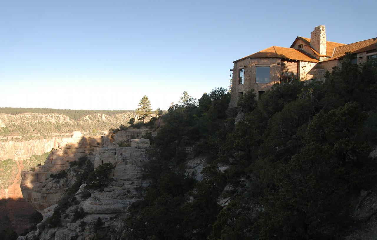 The North Rim Lodge.