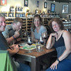 A wine and gaming break, at Vino Loco in Flagstaff.