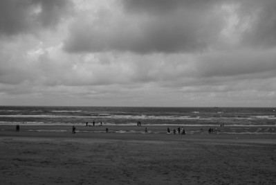 In Zandvoort looking toward the UK.