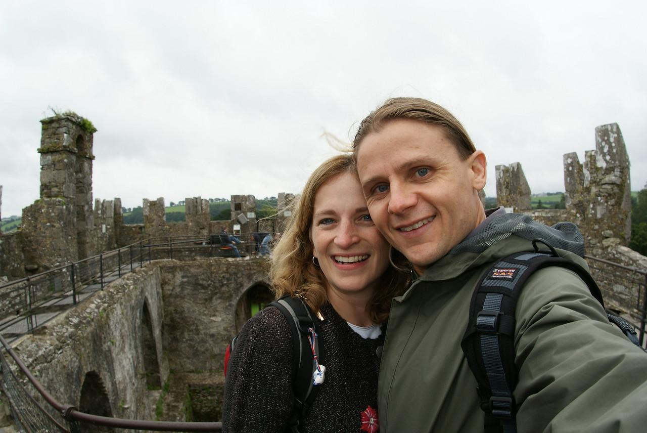 Atop Blarney Castle.