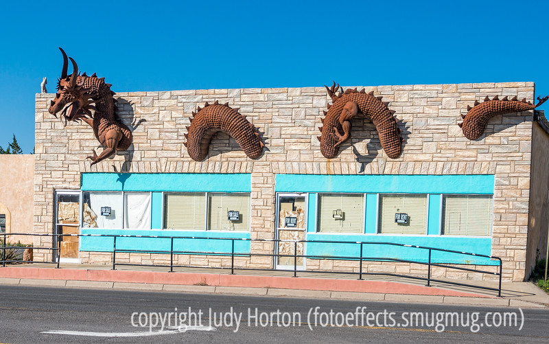 Metal Sculpture in Clayton, NM