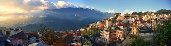 Sapa morning light