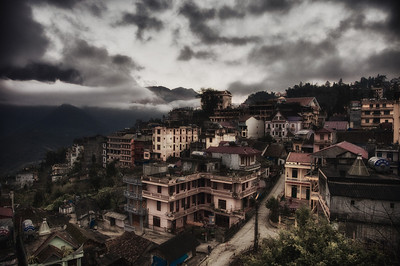 Sapa in morning light