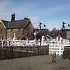 Grosmont Level Crossing and Station House.