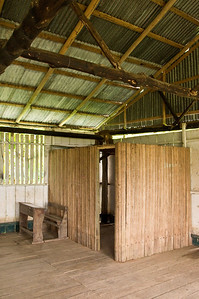 A small room at the back of the classroom was used to cool off rowdy soccer players and other malcontents. It seemed to be the village jail.