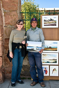 We stopped at a small villlage - and bought several of this artist's watercolor landscapes