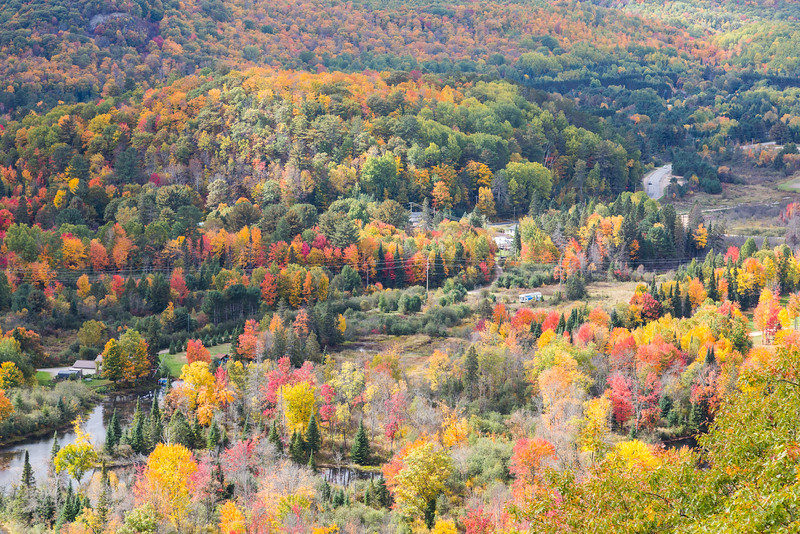 View from the Hawk Watch at Eagle's Nest of Bancroft, Ontario,