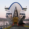 """The BC Ferry to Prince Rupert was more like a cruise ship than a ferry boat. Two weeks ago today it began service--it still had that """"new boat smell"""". This crossing took almost 17 hours. June 1, 2009."""