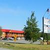 1-North to Alaska - Alaska Highway, @ hist Mi 1016, Alcan Motor Inn, Haines Jct, Yukon  may 29, 2015   729pm DSCN9944