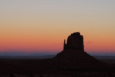 Navajo - The Sky Lights Up after Sunset