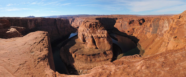 Glen Canyon - Horseshoe Bend Pano