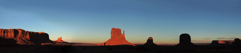 Navajo - Monument Valley at Dusk