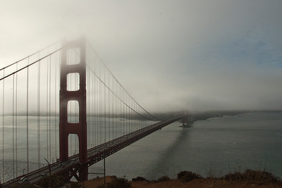 San Francisco - Misty Golden Gate