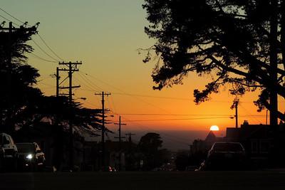 San Francisco - Evening Arrival