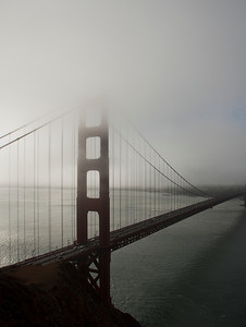 San Francisco - Misty Clouds