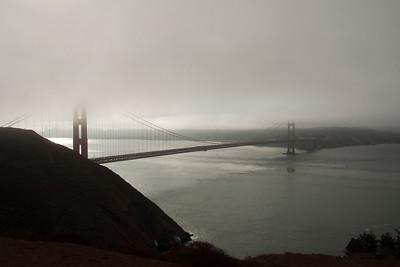 San Francisco - Misty Morning