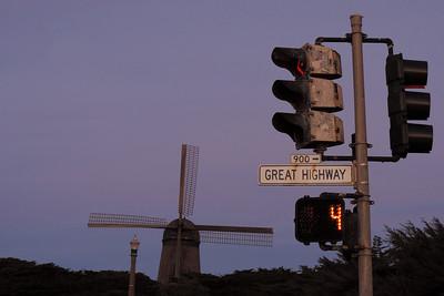 San Francisco - Purple Great Highway