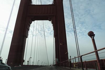 San Francisco - Blue Sky Golden Gate