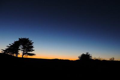 San Francisco - Night Sky