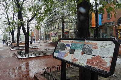 Boulder - Wet Day Downtown