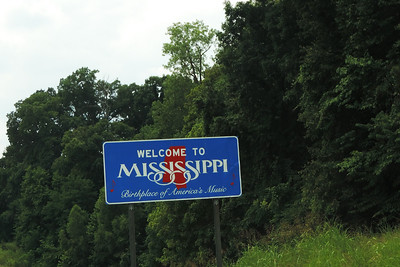 Tunica - Mississippi State Sign