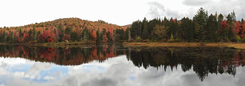 Wentworth - Umbagog Reflection Panorama
