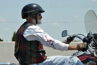 Austin - Vietnam Vet on Harley