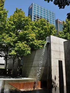 Dallas - Down Town Fountain