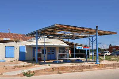 Rotan - Closed Fina Station