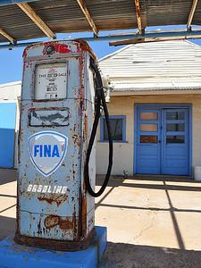 Rotan - Fina Gasoline