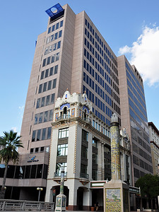 San Antonio - Houston Street Old & New