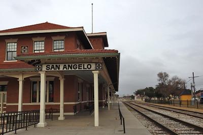 San Angelo - Train Station