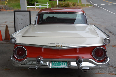 Hancock - Tail of a Ford 500 Skyliner Convertible (1959)
