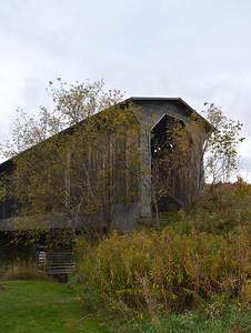 Wolcott - Fisher Bridge in Autumn Colours