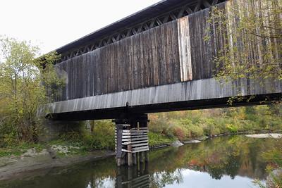 Wolcott - Wooden Railway Bridge (1908)