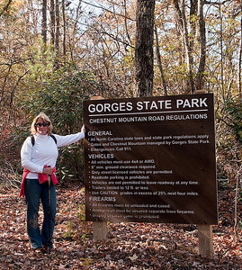 Beth At Gorges State Park