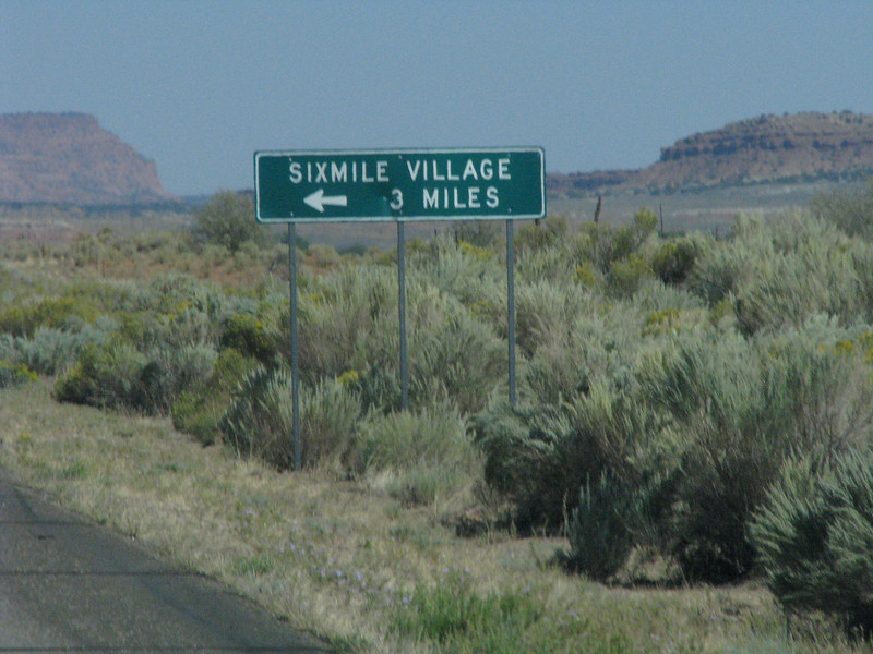 Sixmile Village is only 3 miles away, some how that just does seem to add up.