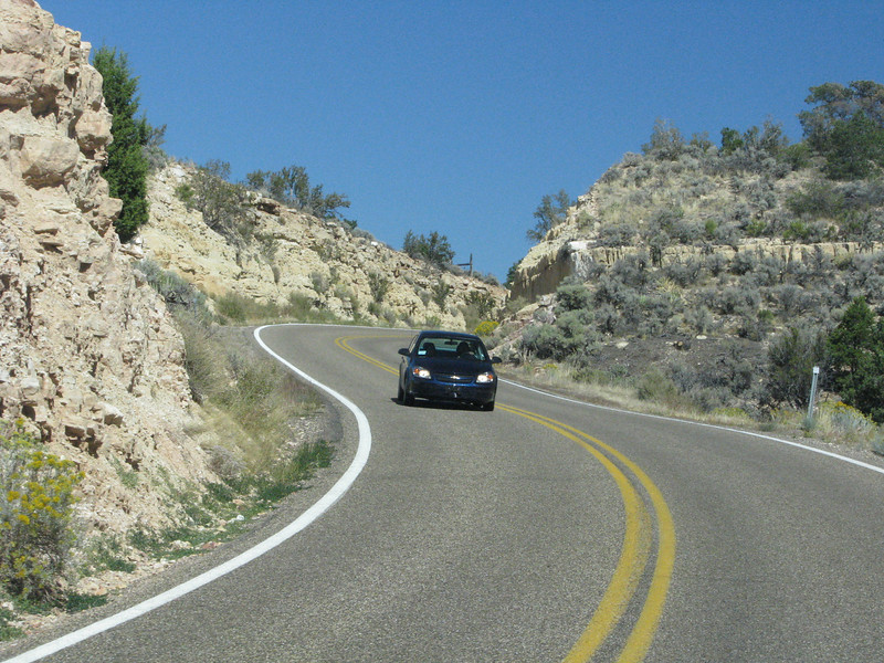 Hwy67 does climb a lot to higher heights and has some windy curves along the way.