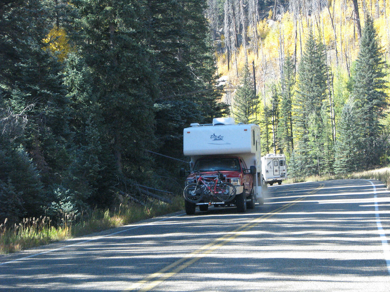 This trip we've seen a bounty of Truck Campers