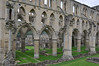 Rievaulx Abbey, founded in 1132 was the first Cistercian abbey in the north of England.