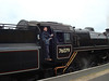 Ed on a Steam Trains on the North Yorkshire Moors Railway Line