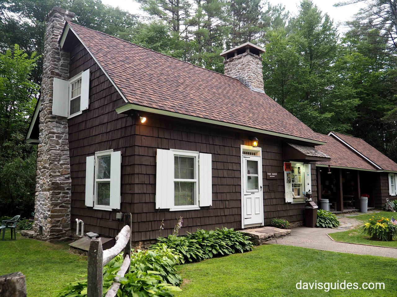 Caretaker cottage, Wilgus State Park, NY